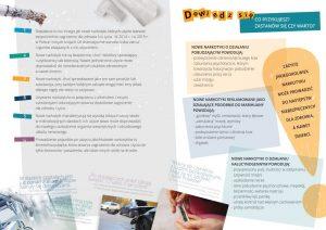 Plakat akcji antynarkotykowej